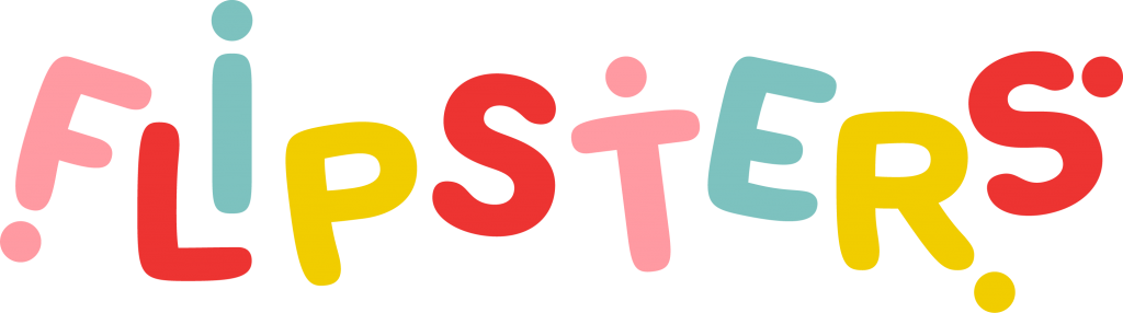 "National Kids Gym ""Flipsters"" Logo"